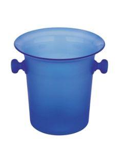 Blue Acrylic Ice / Wine Cooler Bucket