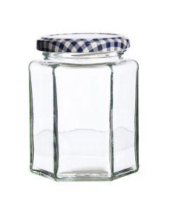 Kilner Hexagonal Twist Top Jar 280ml