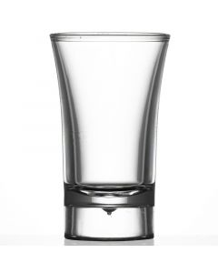 Econ Clear Polystyrene Shot Glass 40ml