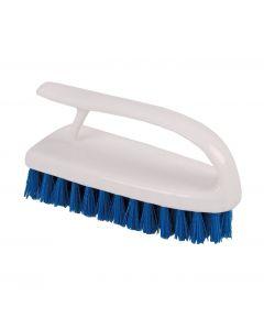Washable Hand brush Blue 15cm