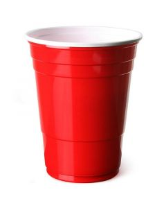 Disposable Red American Party Cups 16oz
