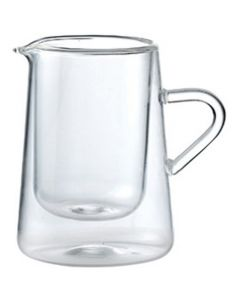 Thermic Double-Walled Glass Jug