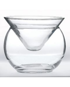 Two Piece Martini Chiller Cocktail Glass 5.75oz