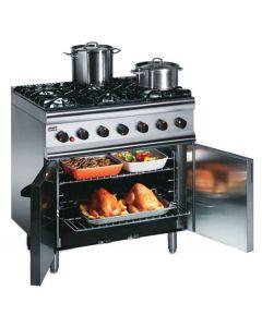 Lincat Silverlink 600 6 Burner LPG Gas Oven SLR9C/P
