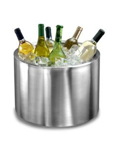 Elia Extra Large Steel Champagne Cooler