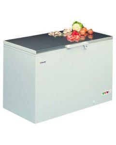 Elcold Steel Lid Chest Freezer 347 Litre (W1050 X D730 x H860mm)