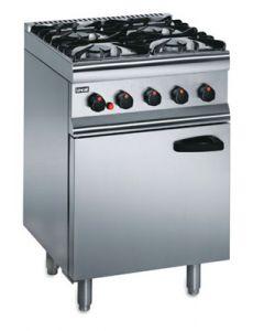 Lincat Silverlink 600 4 Burner LPG Gas Oven SLR6/P