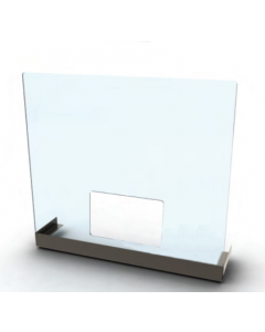 Universal Counter Mount Acrylic Safety Screen
