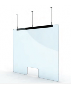 Universal Ceiling Mount Acrylic Safety Screen