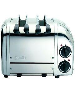 Dualit Classic 2 Slot Polished Steel Sandwich Toaster