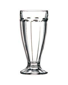 Paneled Soda / Milkshake / Smoothie Glasses 12oz