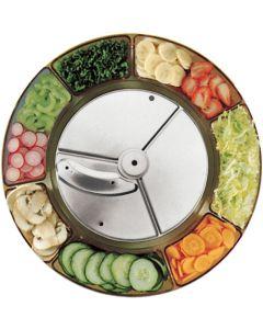1mm slicer for game chips, cabbage, coleslaw
