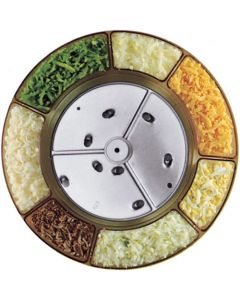 9mm extra course for vegetables,cheese,chocolate