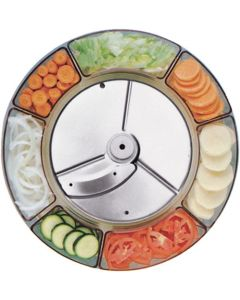 6mm slicer for thick cut vegetables