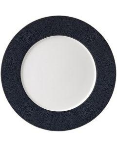 Purity Pearls Dark Rimmed Plate 32cm