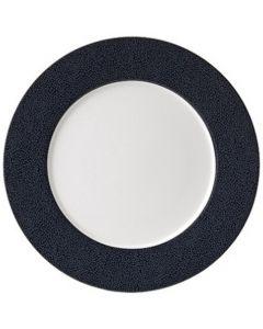 Purity Pearls Dark Rimmed Plate 29cm