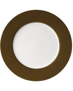 Purity Pearls Gold Rimmed Plate 32cm