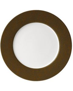 Purity Pearls Gold Rimmed Plate 29cm