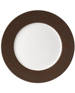 Purity Pearls Copper Rimmed Plate 32cm