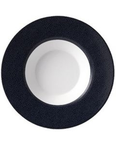 Purity Pearls Dark Rimmed Bowl 11.2oz
