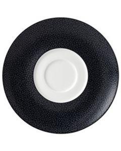 Purity Pearls Dark Saucer 16cm