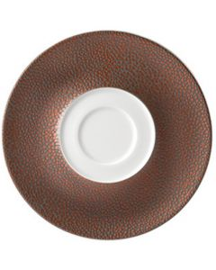 Purity Pearls Copper Saucer 16cm