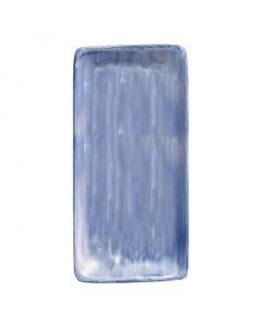 """Modern Rustic Blue - Rectangular Platter 12"""""""