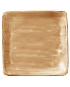 "Modern Rustic Sand - Flat Square Plate 6"""