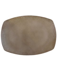 "Modern Rustic - Rectangular Platter Natural Wood 11"""