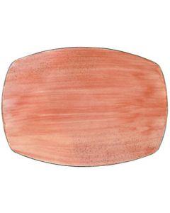 "Modern Rustic - Rectangular Platter Rustic Lobster 11"""