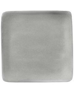 "Modern Rustic Flat Square Plate Stone 6"""