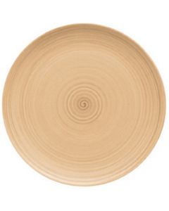 """Modern Rustic Sand - Flat Coupe Plate 8"""""""