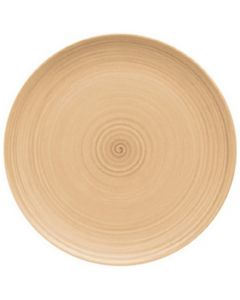 """Modern Rustic Sand - Flat Coupe Plate 10.4"""""""