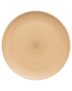 """Modern Rustic Sand - Flat Coupe Plate 12.8"""""""