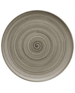 """Modern Rustic Wood - Flat Coupe Plate 6"""""""