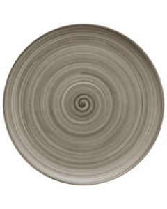 """Modern Rustic Wood - Flat Coupe Plate 10.4"""""""