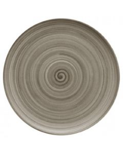 """Modern Rustic Wood - Flat Coupe Plate 12.8"""""""