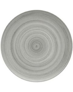 """Modern Rustic Grey - Flat Coupe Plate 11.2"""""""