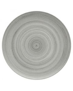 """Modern Rustic Grey - Flat Coupe Plate 12.8"""""""
