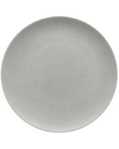 """Modern Rustic Stone - Flat Coupe Plate 11.2"""""""