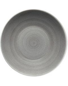 "Modern Rustic Grey - Deep Coupe Plate 7.2"""