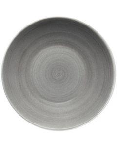"Modern Rustic Grey - Deep Coupe Plate 9.6"""
