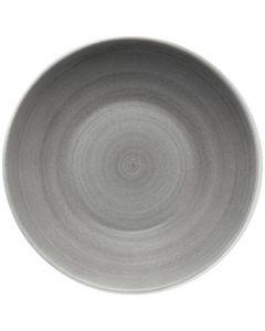 "Modern Rustic Grey - Deep Coupe Plate 12"""