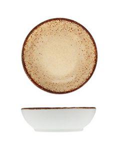 "Modern Rustic - Dish Natural Sand 3.2"""