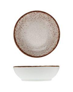 """Modern Rustic - Dish Natural Gray 3.2"""""""