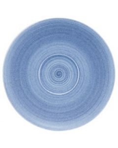 """Modern Rustic Blue - Coupe Saucer 4.8"""""""