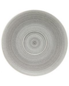 """Modern Rustic Grey - Coupe Saucer 6"""""""