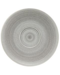 """Modern Rustic Grey - Coupe Saucer 7.6"""""""