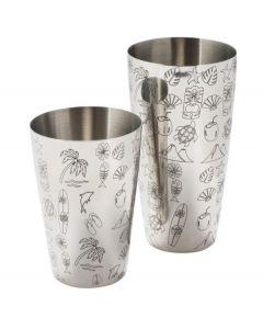 Tom Dyer's Tiki Tin-On-Tin Cocktail Shaker