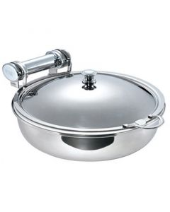Round Induction Chafer & Stainless Steel Insert